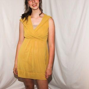 Cute yellow summer dress